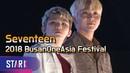 [181021] MC Woozi Seungkwan (Seventeen) @ Busan One Asia Festival