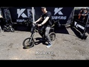 Ride with silent power on a Kuberg electric bike Overland Expo 2017