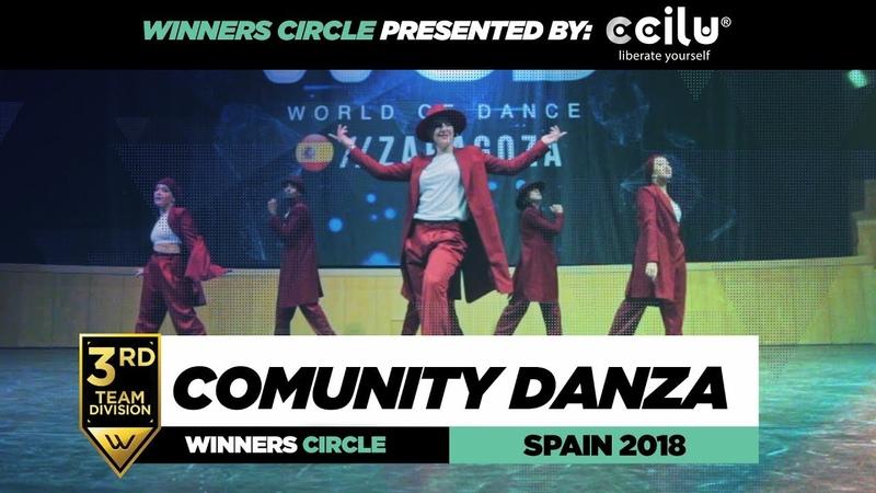 COMUNITY DANZA 3rd Place Team Winners Circle World of Dance Spain Qualifier 2018 WODSP18 смотреть онлайн без регистрации