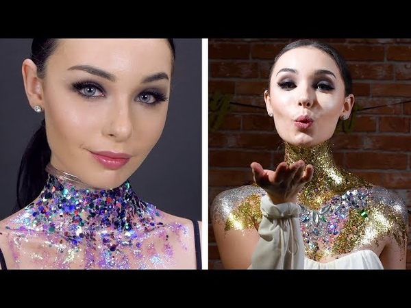 DIY Beauty Hacks and Ideas | Get The Glitter Look! Makeup Tips by Blusher