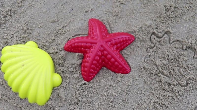 Learn Colors for Children Sand Molds rakushka Finger Family Nursery Rhymes