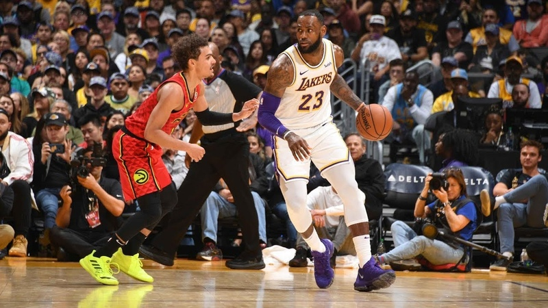 Atlanta Hawks vs LA Lakers | Highlights | Nov 11, 2018 | NBA 2018-19
