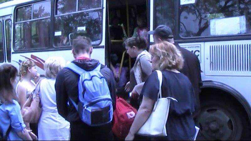 Поліція Торецька евакуює дітей з центра реабілітації