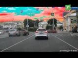 В Иваново, пьяный водитель на 14-ой даже не стал тормозить на красный сигнал