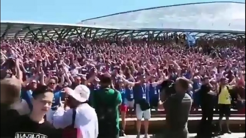 About 30 000 Iceland in Moscow 16.06.2018