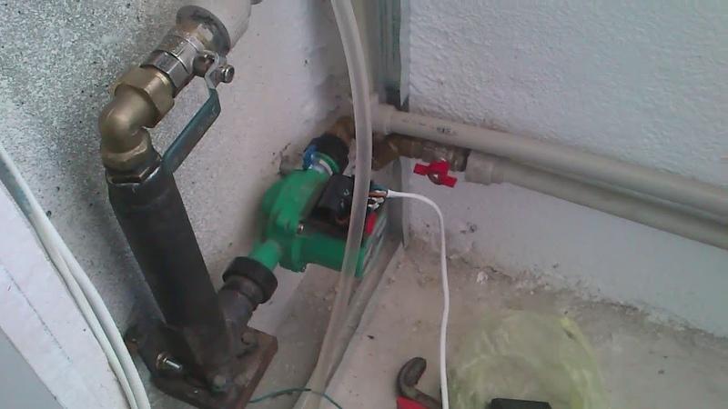 электродный котёл в системе отопления с газовым котлом Настройка теплоносителя