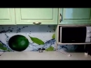 Изготовление и установка скинали в кухню. СтеклоМастер