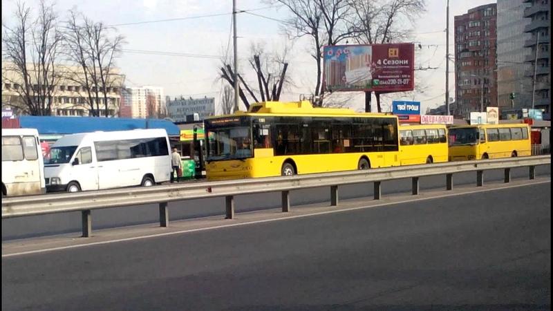 Троллейбус №12|Trolleybus №12 Вул. Юрiя Смолича - Залізничний вокзал Центральний