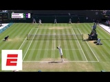 Wimbledon 2018 Highlights Federer stunned by Anderson in 5 sets ESPN