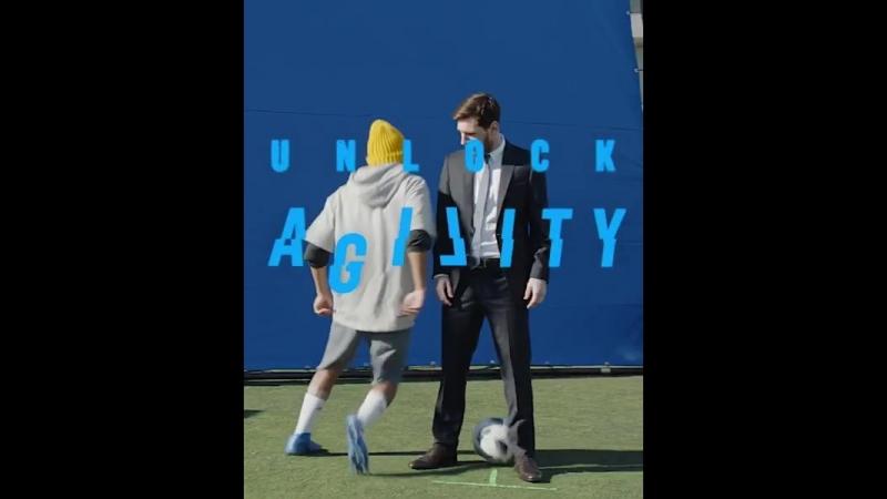 Месси Adidas компаниясының жарнамасына түсті⚽️🇦🇷