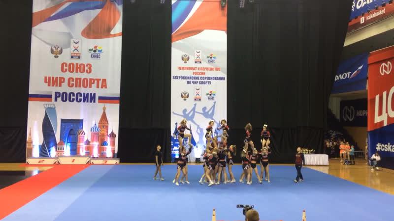 No Limit Cheer Чемпионат России 2019