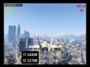 GTA 5 test I7 2600k vs i5 3570k GTX 950