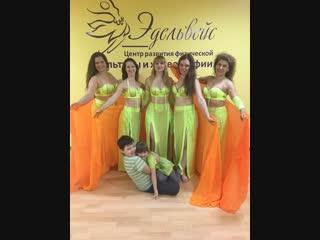 Ученицы центра танца