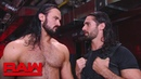 The Kingslayer Seth Rollins claims that Dolph Ziggler is using Drew McIntyre Raw Sept 24 2018