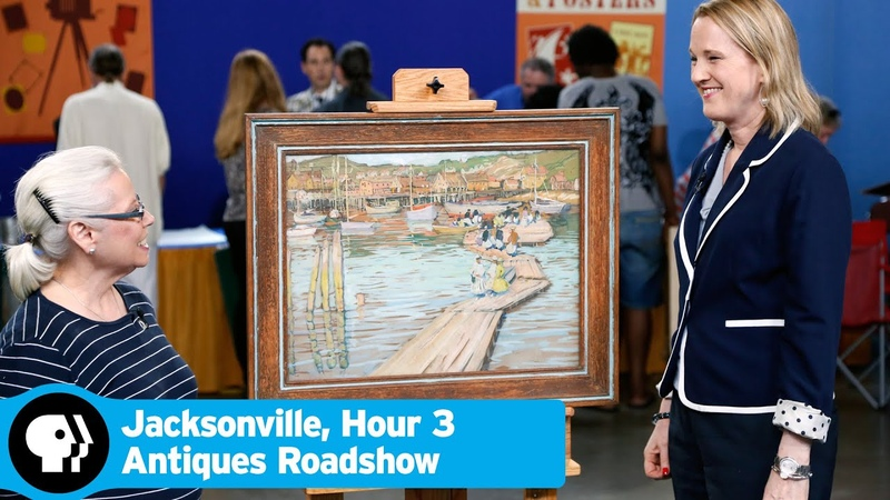 ANTIQUES ROADSHOW | Jacksonville, Hour 3 Preview: Jane Peterson The Floats Gouache, ca. 1915 | PBS