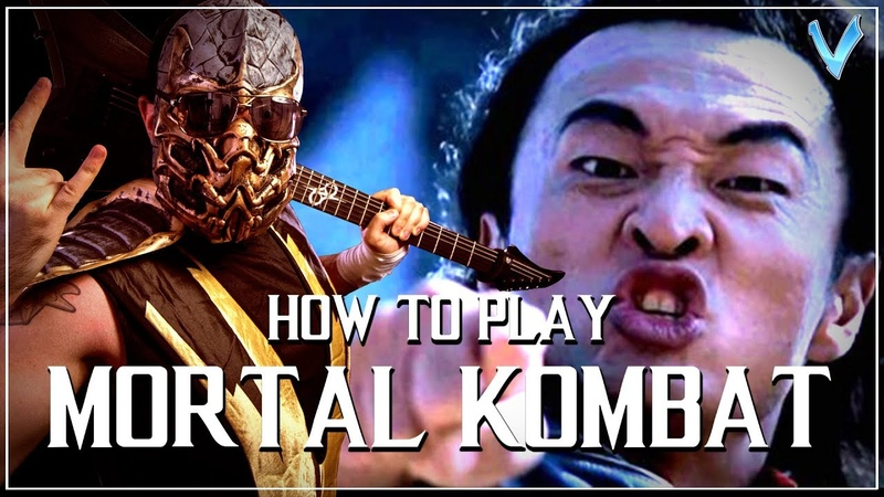 How to Play with V Mortal Kombat Theme on Guitar