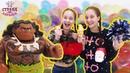 Страна девчонок • Соня и Полина на вечеринке племени Моаны день рождения Мауи!
