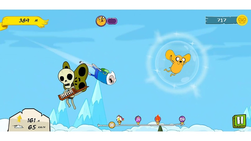 Adventure Time: Crazy Flight IOS-Android-Review-Gameplay-Walkthrough-Best score