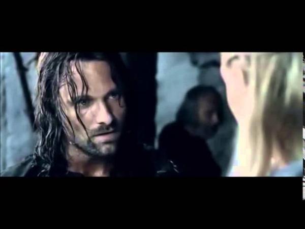 Aragorn arrives at Helm's Deep