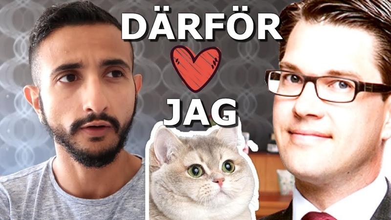 Därför som flykting älskar jag Jimmie Åkesson