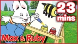 Max &amp Ruby Max's Work of Art Max Meets Morris Ruby's Scavenger Hunt - Ep. 14