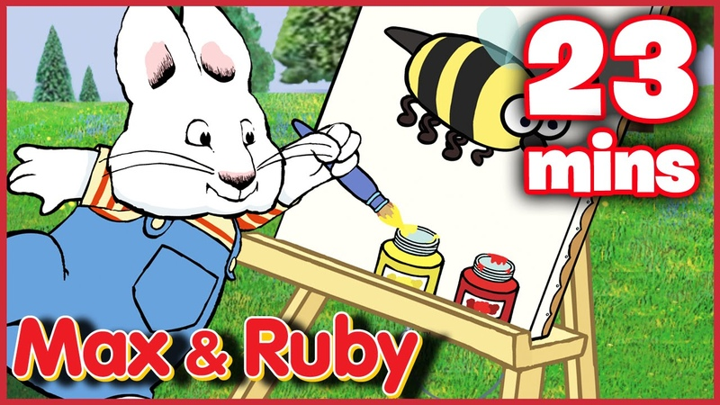 Max Ruby: Max's Work of Art / Max Meets Morris / Ruby's Scavenger Hunt - Ep. 14