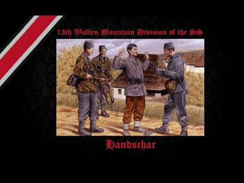 13th Waffen Mountain Division of the SS Handschar 1st Croatian
