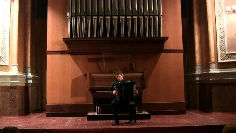 D. Scarlatti. Sonata D-dur. Dmitry Zharikov (bayan) Дмитрий Жариков (баян)