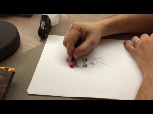 Comment j'ai dessiné Frida la leçon de dessin de Benjamin Lacombe