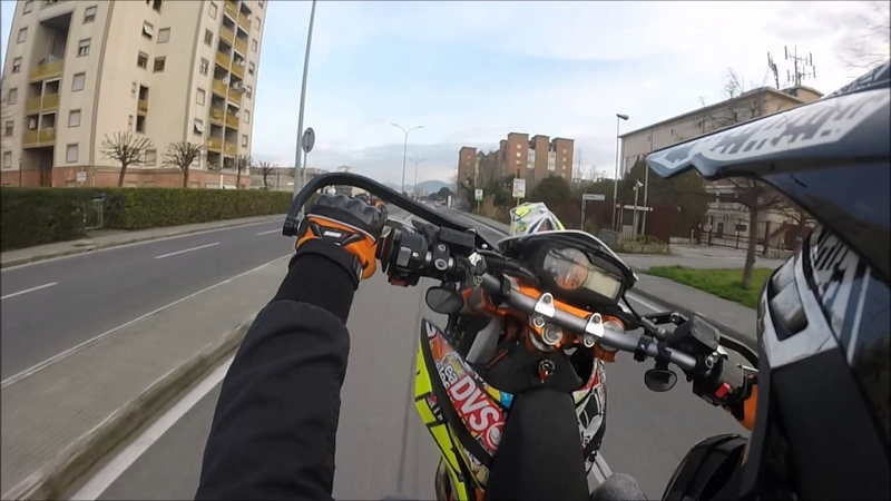 How I Go To School by KTM 690 SMC-R | MLS