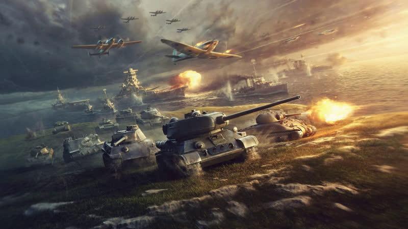 World of Tanks Приступ танкиста Средние танки Веселые будни в рандоме 17
