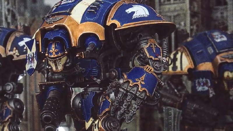 [WarpBeacon] ВМ 100 Либрариум - Имперские Рыцари / Imperial Knights