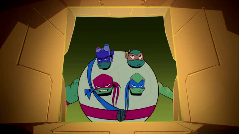 Расцвет черепах ниндзя|Rise of the Teenage Mutant Ninja Turtles|s01e10|сезон 1 серия 10|sMUGENom