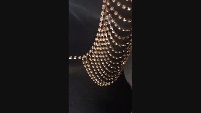 Jewellery lingerie by Vladlena Sid