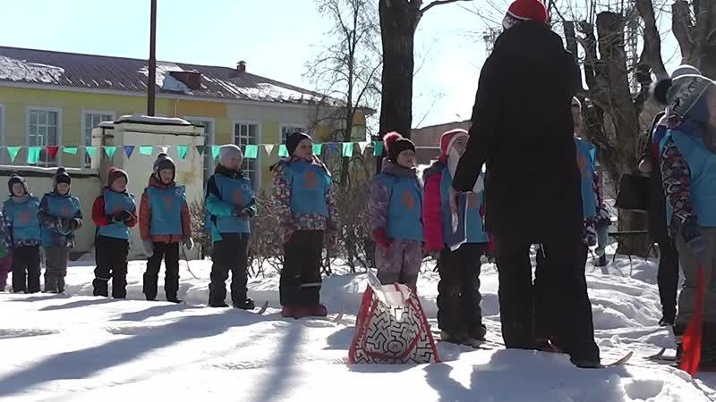 Лыжные соревнования между дс города.