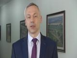 Глава региона Андрей Травников поздравляет выпускников с Последним звонком
