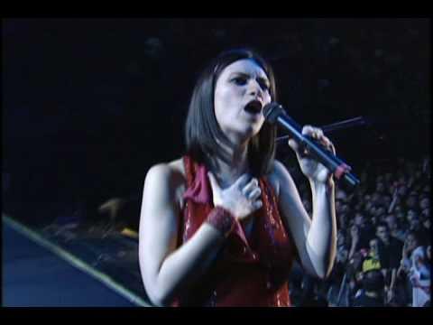 Laura Pausini Entre tú y mil mares en vivo World tour 2001 2002