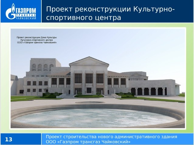 здание газпрома, чайковский, 2018 год