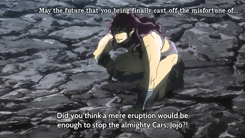 Jojo's Bizarre Adventure Cars' Banishment