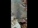 Тореза 77 пожар на стройке