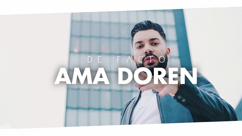 DE FACTO - Ama Doren (Official 4K Video)