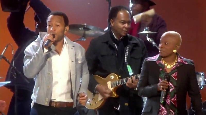 Angélique Kidjo John Legend - Move On Up (2010 FIFA World Cup™ Kick-off Concert)