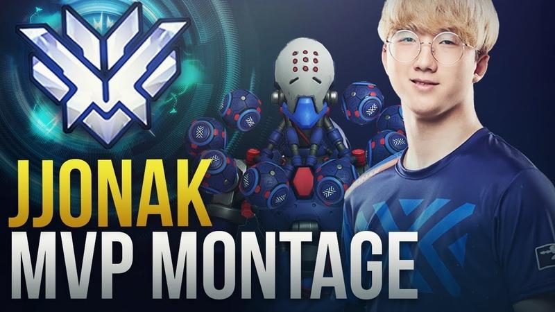 JJONAK - Overwatch League MVP - Worlds Best Zenyatta - Overwatch Montage