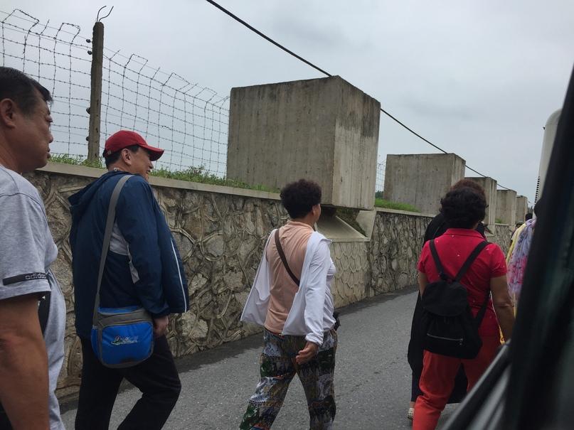 Отчет о путешествии в Северную Корею 2018. Противотанковые кубы