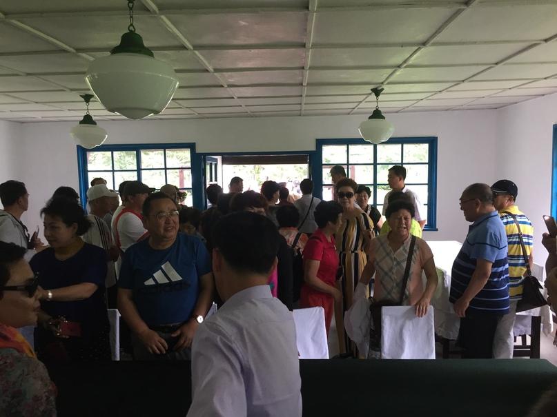Отчет о путешествии в Северную Корею 2018. Домик где проводились переговоры