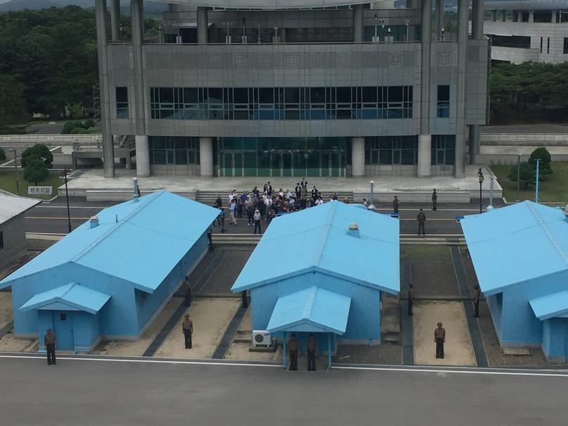 Отчет о путешествии в Северную Корею 2018. Группа Южнокорейских туристов