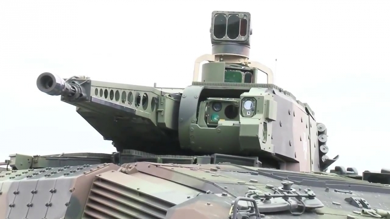 Rheinmetall Defence KMW - Puma Infantry Fighting Vehicle Presentation [1080p]