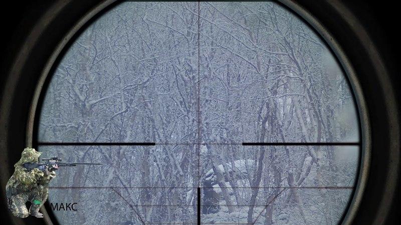 ICESNIPE DEV Страйкбольный снайпинг воскресная тренировка