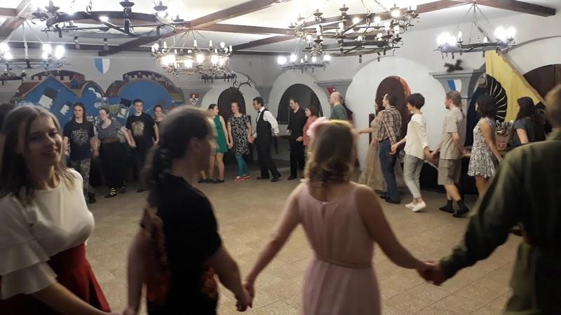 Нарвежская кругавая Вечар старадаўніх танцаў у МПДіМ