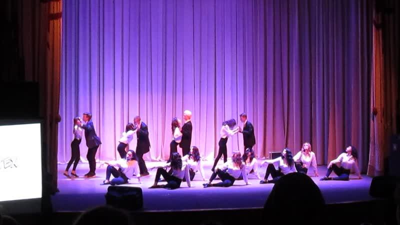 Танцевальная команда ТомИнТеха Гран при I регионального конкурса Танцуй за СПО
